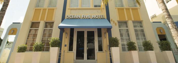 Außenansicht Ocean Five Hotel Miami South Beach