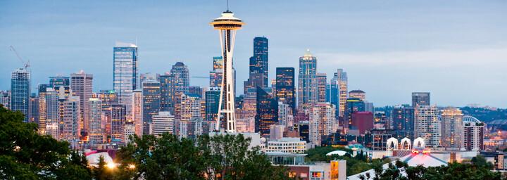 Seattle Space Needle & Skyline