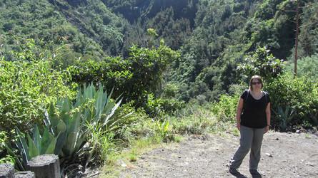 "La Réunion Reisebericht: Reiseexpertin Silke auf der Rundwanderung ""Le Bras Rouge"" auf La Réunion"