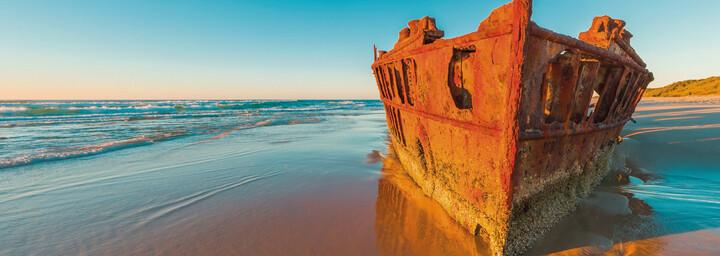 Fraser Island - Schiffsfrack