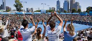 Australian Open live erleben