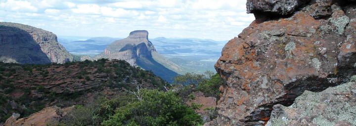 Landschaft der Waterberg Mountains