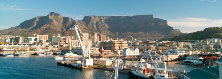 Blick auf Waterfront Kapstadt