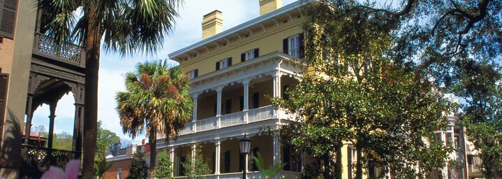 Historisches Gebäude Savannah