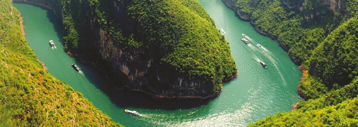 Yangtze Fluss in China