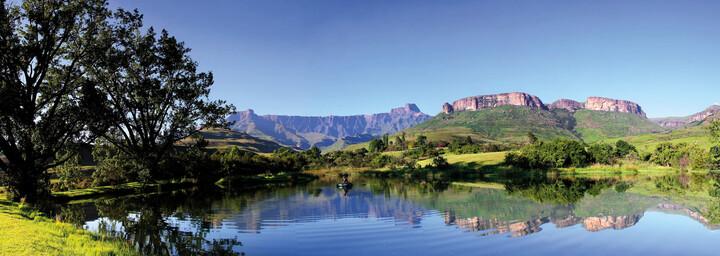 Drakensberge in Südafrika