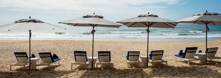 Strand des akyra Beach Club Phuket