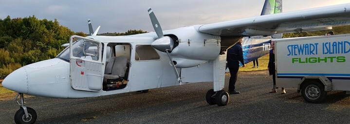 Neuseeland Reisebericht: Cessna Maschine nach Stewart Island