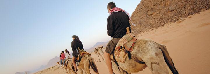 Kamelritt Wadi Rum