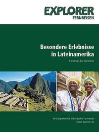 Explorer Fernreisen - Cover der Südamerika Broschüre