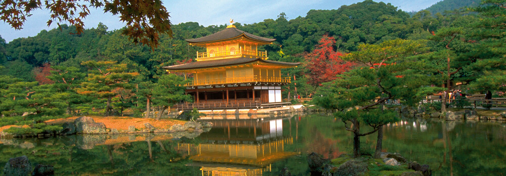 Goldener Pavillion in Kyoto