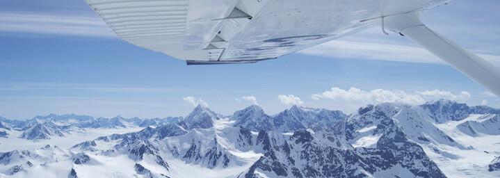 Yukon Reisebericht: Rundflug über den Kluane Nationalpark