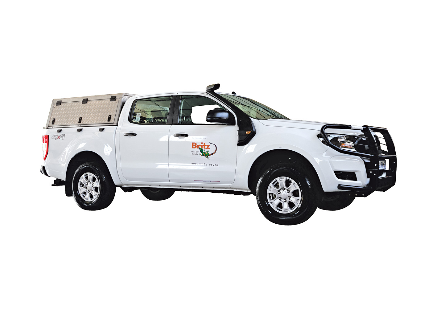 Britz Ford Ranger Double Cab 4x4