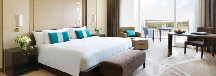 Beispiel Deluxe-Zimmer Anantara Eastern Mangroves Hotel & Spa Abu Dhabi