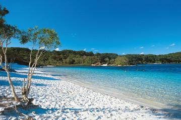 Reisebericht Australien: Fraser Island - Lake McKenzie