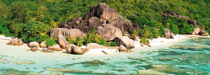 La Digue auf den Seychellen