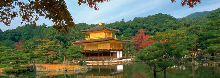 Kyoto Goldener Pavillion am Wasser