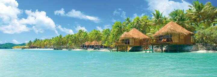 Aitutaki Lagoon Private Island Resort Außenansicht