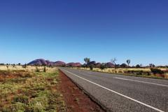 Road to Kata Tjuta