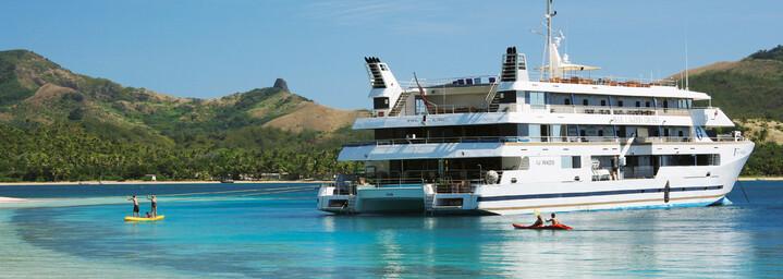 """Außenansicht - Kreuzfahrtschiff """"MV Fiji Princess"""" Blue Lagoon Cruises"""