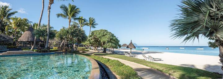 La Pirogue - Pool und Strand auf Mauritius