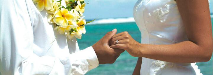 Hochzeitspaar Mauritius