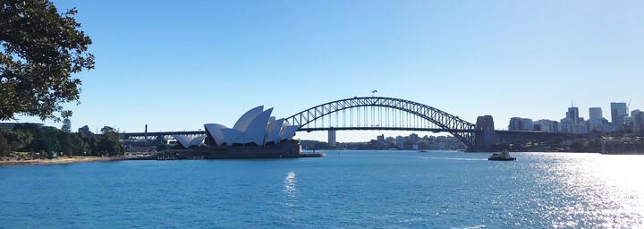 Sydney Harbor Bridge & Opernhaus