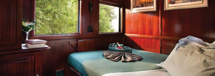 Pullman Abteil Doppelbett