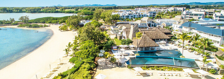 Resortanlage Radisson Blu Azuri Resort & Spa Mauritius