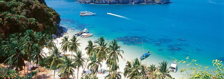 Thailands Küste & Sandstrand