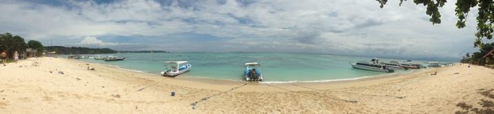 Bali Reisebericht - Strand auf Lembongan