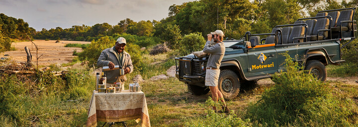 Safari des Motswari Private Game Reserve