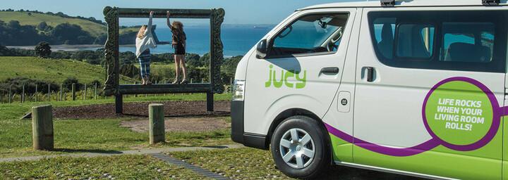 Jucy Camper in Neuseeland
