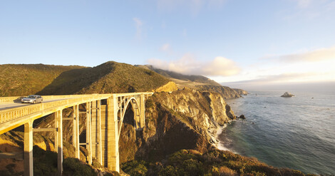 Bixby Bridge Big Sur Kalifornien