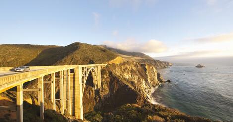 Bixby Bridge Big Sur Kalifornien