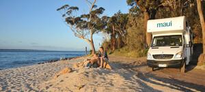 Camper in Neuseeland & Australien