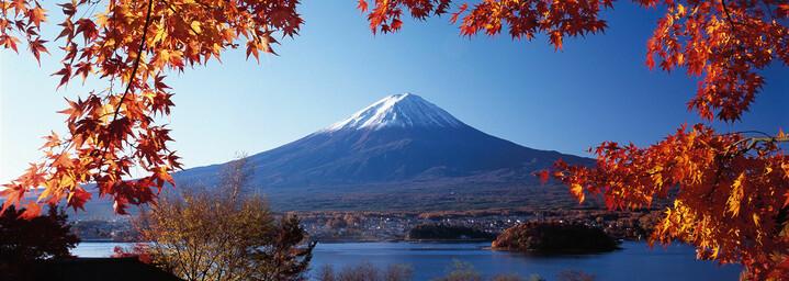 Fuji-san im Herbst