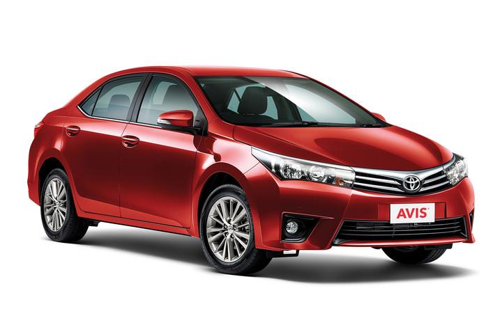 Avis Intermediate Toyota Corolla