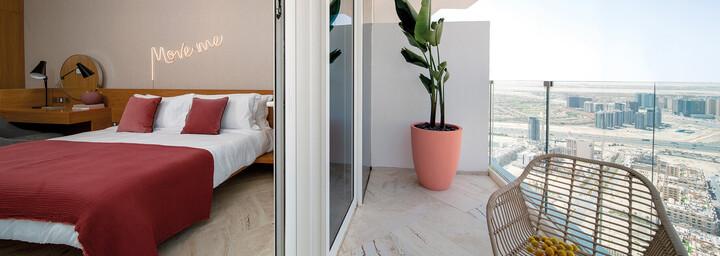 FIVE Jumeirah Village Dubai Zimmer