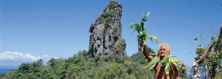 Medizinmann auf Rarotonga