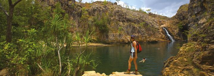 Barramundi Gorge im Kakadu Nationalpark
