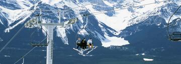Skipässe Region Banff Sunshine, The Lake Louise Ski Resort und Mount Norquay Area