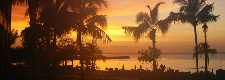 Sonnenuntergang Jamaica