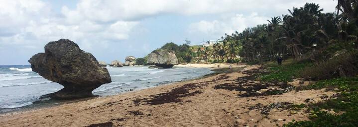 Barbados Reisebericht - Bathsheba Strand
