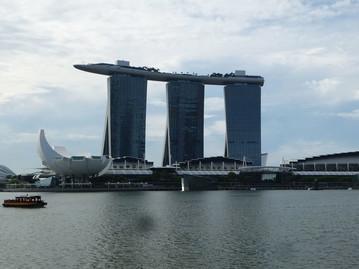 Neuseeland Reisebericht - Stopover Singapur - Marina Bay Sands in Singapur
