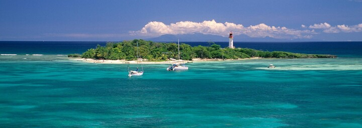 Insel von Guadeloupe