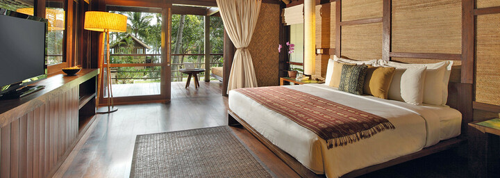 Jeeva Klui Resort Lombok - Zimmerbeispiel