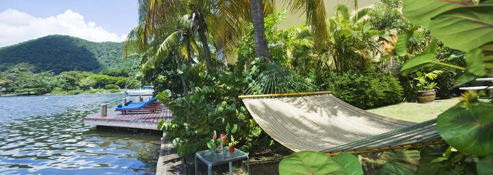 Harmony Suites St. Lucia, Hängematte
