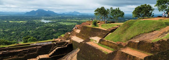 Sigiriya - Aussicht