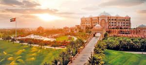 Außenansicht - Emirates Palace
